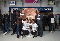 Penny for London Liv St Station sss 30.9.2015