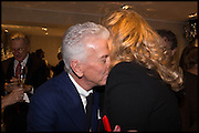 , NICKY HASLAM; ; PRINCESS MICHAEL OF KENTRalph Lauren host launch party for Nicky Haslam's book ' A Designer's Life' published by Jacqui Small. Ralph Lauren, 1 Bond St. London. 19 November 2014