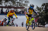 #140 (KITWANITSATHIAN Chutikan) THA during practice at Round 9 of the 2019 UCI BMX Supercross World Cup in Santiago del Estero, Argentina