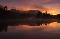 Sunrise, Groton State Forest, Vermont, USA