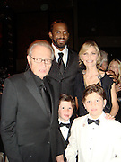 Larry King and wife Shawn Southwick King with thier two sons..Larry King's 75th Birthday Party and 20th Anniversary of Larry King Cardiac Foundation in partnership with COPE Health Solutions..Grand Ballroom at Hollywood and Highland..Hollywood, CA, USA..Saturday, November 15, 2008..Photo By Selma Fonseca/Celebrityvibe.com.To license this image please call (212) 410 5354; or Email: celebrityvibe@gmail.com ;.website: www.celebrityvibe.com