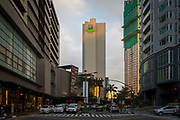 The Holiday Inn and Suites Makati located in the Glorietta Complex, Palm Drive, Makati, Metro Manila, Philippines.  (photo by Andrew Aitchison / In pictures via Getty Images)