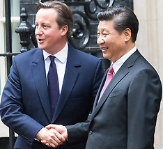 2015-10-21 Chinese President Xi Jinpeng Visits 10 Downing Street