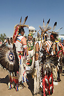 Crow Fair, Powwow, Traditional Dancers, Crow Indian Reservation, Montana