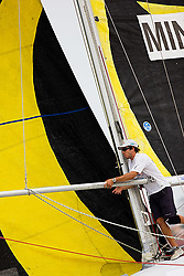 2008 Monsoon Cup. BlackMatch Racing/ETNZ (Thursday  5th December 2008). .