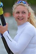 Reading. United Kingdom.  GBR W1X, Jessica LEYDEN,  2014 Senior GB Rowing Trails, Redgrave and Pinsent Rowing Lake. Caversham.<br /> <br /> 13:23:04  Saturday  19/04/2014<br /> <br />  [Mandatory Credit: Peter Spurrier/Intersport<br /> Images]