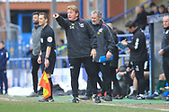 Stuart McCall during the EFL Sky Bet League 1 match between Rochdale and Scunthorpe United at Spotland, Rochdale, England on 23 March 2019.