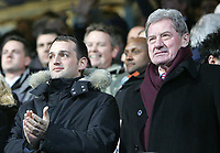 Photo: Lee Earle.<br /> Portsmouth v Manchester United. The Barclays Premiership. 11/02/2006. Portsmouth Directors Milan Mandaric (R) and Alexandre Gaydamak.