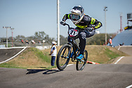 #21 (REYNOLDS Lauren) AUS  at Round 9 of the 2019 UCI BMX Supercross World Cup in Santiago del Estero, Argentina