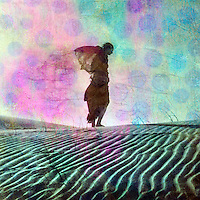 """""""All that you are seeking is also seeking you.""""<br /> —  Clarissa Pinkola Estes<br /> <br /> ::::::::::::::::::::::::::::::::::::::::::::::::::::::<br /> <br /> Abstract female figure alone in the dunes.<br /> :::<br /> """"The highly sensitive [introverted] tend to be philosophical or spiritual in their orientation, rather than materialistic or hedonistic. They dislike small talk. They often describe themselves as creative or intuitive. They dream vividly, and can often recall their dreams the next day. They love music, nature, art, physical beauty. They feel exceptionally strong emotions--sometimes acute bouts of joy, but also sorrow, melancholy, and fear. Highly sensitive people also process information about their environments--both physical and emotional--unusually deeply. They tend to notice subtleties that others miss--another person's shift in mood, say, or a lightbulb burning a touch too brightly."""" <br /> ― Susan Cain, Quiet: The Power of Introverts in a World That Can't Stop Talking"""