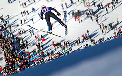 31.12.2013, Olympiaschanze, Garmisch Partenkirchen, GER, FIS Ski Sprung Weltcup, 62. Vierschanzentournee, Training, im Bild Pascal Kaelin (SUI) // Pascal Kaelin (SUI) during practice Jump of 62nd Four Hills Tournament of FIS Ski Jumping World Cup at the Olympiaschanze, Garmisch Partenkirchen, Germany on 2013/12/31. EXPA Pictures © 2013, PhotoCredit: EXPA/ JFK