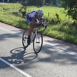30-08-2016: Wielrennen: Ladies Tour: Tiel      <br /> TIEL (NED) wielrennen    <br /> De Boels Ladies Tour begon met een etappe door de Betuwe. Winanda Spoor was de eerste aanvalster in deze ronde
