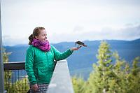 Five Mile Butte fire lookout on Mount Hood, Oregon.