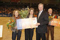 J.M. Beijer - de Kleijn fokkers Parzival<br /> KWPN Hengstenkeuring - 's Hertogenbosch<br /> Photo © Dirk Caremans
