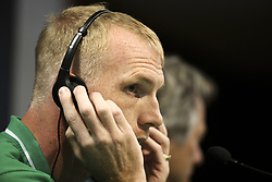 September 26, 2017 - Lisbon, Portugal - Sporting's defender Jeremy Mathieu during a press conference at Alvalade stadium in Lisbon,  on September 26, 2017, on the eve of the UEFA Champions League Group D football match Sporting CP vs FC Barcelona. (Credit Image: © Filipe Amorim/NurPhoto via ZUMA Press)