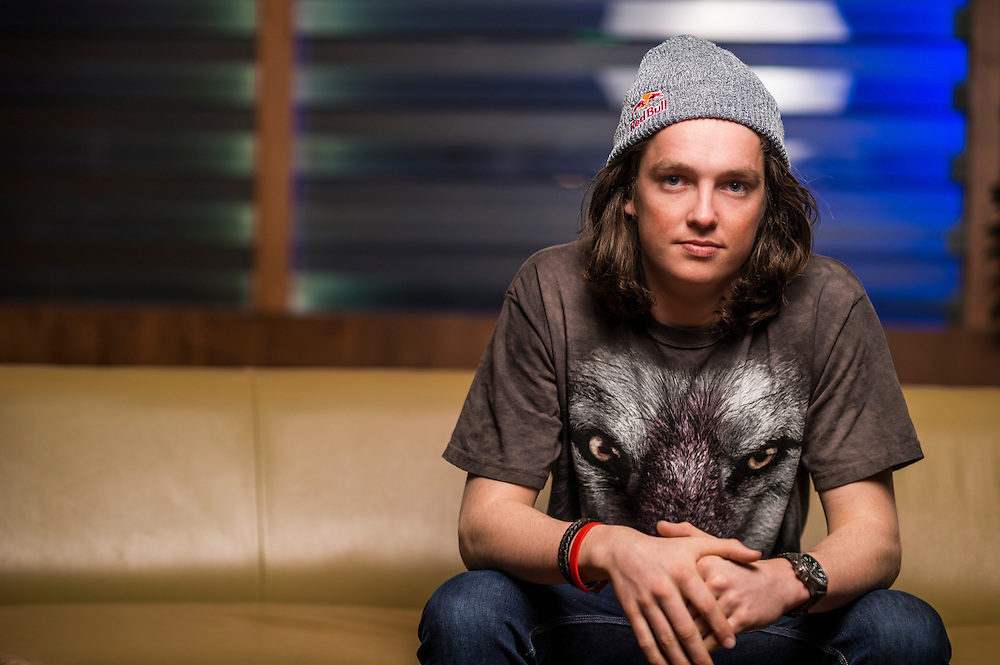 Scotty James poses for a portrait  at the RedBull Performance Camp in Aspen Colorado, United States on April 14th, 2013