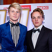 NLD/Amsterdam/20181217 - Hashtag Awards 2018, Peter De Harder en Kalvijn