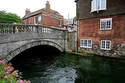 UNITED KINGDOM HAMPSHIRE 17JUN09 - The chalkstream river Itchen in Winchester in Hampshire, southern England...The river has a total length of 28 miles, and is noted as one of England's - if not one of the World's - premier chalk streams. It is designated as a Site of Special Scientific Interest and is noted for its high quality habitats, supporting a range of protected species...jre/Photo by Jiri Rezac / WWF UK..© Jiri Rezac 2009
