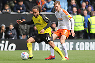 Burton Albion midfielder Marcus Harness on the ball during the EFL Sky Bet League 1 match between Burton Albion and Luton Town at the Pirelli Stadium, Burton upon Trent, England on 27 April 2019.