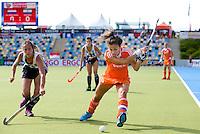 MONCHENGLADBACH - Renske Siersema  Jong Oranje dames wint zondag in Monchengladbach de wereldtitel door de finale van het het WK-21 van  Argentinie te winnen. Het Nederlands hockeyteam wint na 1-1 de shout-outs. Foto Koen Suyk