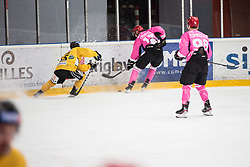 TOMAZEVIC Blaz  during Alps Hockey League match between HC Pustertal and HDD SIJ Jesenice, on October 3, 2019 in Ice Arena Podmezakla, Jesenice, Slovenia. Photo by Peter Podobnik / Sportida