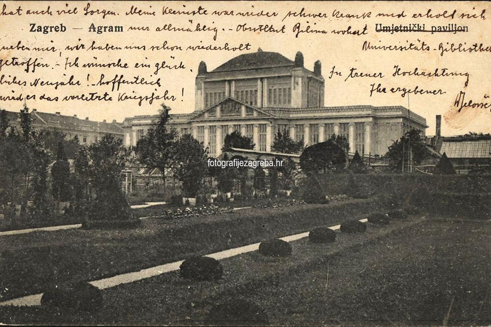 Zagreb = Agram. <br /> <br /> ImpresumS. l. : S. n., [1916?].<br /> Materijalni opis1 razglednica : tisak ; 9 x 13,9 cm.<br /> Vrstavizualna građa • razglednice<br /> ZbirkaZbirka razglednica • Grafička zbirka NSK<br /> ProjektPozdrav iz Hrvatske • Pozdrav iz Zagreba<br /> Formatimage/jpeg<br /> PredmetZagreb –– Trg Marka Marulića<br /> Nacionalna i sveučilišna knjižnica (Zagreb)<br /> Jezikhrvatski<br /> SignaturaRZG-MAR-1<br /> Obuhvat(vremenski)20. stoljeće<br /> NapomenaRazglednica je putovala 1916. godine.<br /> PravaJavno dobro<br /> Identifikatori000952778<br /> NBN.HRNBN: urn:nbn:hr:238:584929 <br /> <br /> Izvor: Digitalne zbirke Nacionalne i sveučilišne knjižnice u Zagrebu