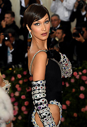 Bella Hadid attending the Metropolitan Museum of Art Costume Institute Benefit Gala 2019 in New York, USA.