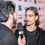 NLD/Rotterdam/20161102 - MTV Music Week Official Opening Party 2016, Kay Nambiar en zijn broer Jessy