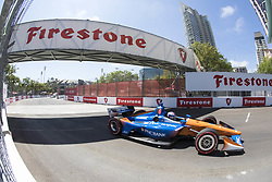 March 11, 2018 - St. Petersburg, Florida, United States of America - March 11, 2018 - St. Petersburg, Florida, USA: Scott Dixon (9) takes to the track for the Firestone Grand Prix of St. Petersburg at Streets of St. Petersburg in St. Petersburg, Florida. (Credit Image: © Walter G Arce Sr Asp Inc/ASP via ZUMA Wire)