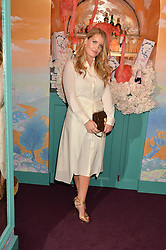 LADY KITTY SPENCER at a party to celebrate Alice Naylor-Leyland's Collaboration with French Sole held at Annabel's, 44 Berkeley Square, London on February 2nd 2016