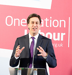 Ed Miliband's speech on One Nation Politics.<br /> Leader of the Labour Party Ed Miliband during his speech, at The St Bride Foundation, Bride Lane,<br /> London, United Kingdom<br /> Tuesday, 9th July 2013<br /> Picture by Elliot Franks / i-Images