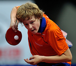 08-05-2011 TAFELTENNIS: WORLD TABLE TENNIS CHAMPIONSHIPS: ROTTERDAM<br /> Koen Hageraats NED<br /> ©2011-FotoHoogendoorn.nl