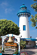 The Lighthouse At Fisherman's Village At Marina Del Rey California