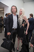 IVOR BRAKA; KRISTEN MCMENAMY, Fashion Show: Robert Mapplethorpe. Alison Jacques Gallery. Berners St. London. 10 September 2013