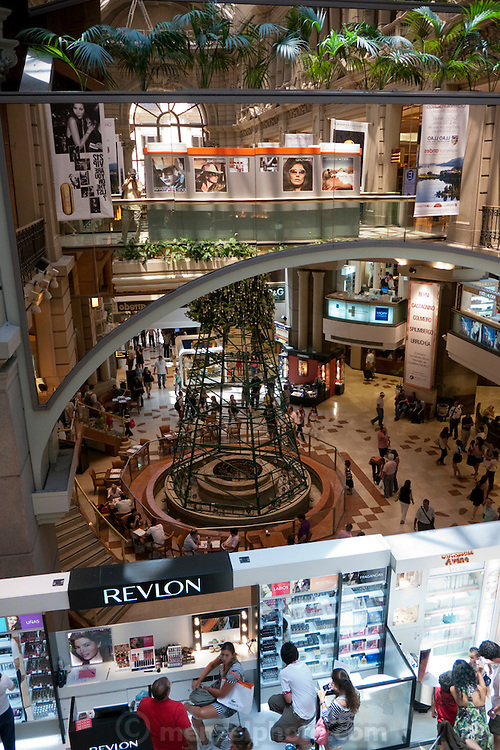 Florida Street, Buenos Aires. Pacifico mall.