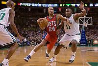 Basketball<br /> NBA<br /> Foto: Dppi/Digitalsport<br /> NORWAY ONLY<br /> <br /> BASKETBALL - NBA - BOSTON (USA) - TD BANKNORTH GARDEN - 14/11/2007<br /> <br /> BOSTON CELTICS (WINNER 91-69) V NEW JERSEY NETS<br /> RICHARD JEFFERSON (24) (NEW JERSEY NETS)