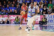 DESCRIZIONE : Campionato 2014/15 Dinamo Banco di Sardegna Sassari - Victoria Libertas Consultinvest Pesaro<br /> GIOCATORE : Rakim Sanders<br /> CATEGORIA : Palleggio Contropiede<br /> SQUADRA : Dinamo Banco di Sardegna Sassari<br /> EVENTO : LegaBasket Serie A Beko 2014/2015<br /> GARA : Dinamo Banco di Sardegna Sassari - Victoria Libertas Consultinvest Pesaro<br /> DATA : 17/11/2014<br /> SPORT : Pallacanestro <br /> AUTORE : Agenzia Ciamillo-Castoria / Luigi Canu<br /> Galleria : LegaBasket Serie A Beko 2014/2015<br /> Fotonotizia : Campionato 2014/15 Dinamo Banco di Sardegna Sassari - Victoria Libertas Consultinvest Pesaro<br /> Predefinita :