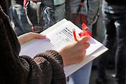 Nederland, Nijmegen, 24-9-2018Studenten van de Radboud universiteit demonstreren tegen het leenstelsel. Studentenvakbond Akku nam het voortouw . Er spraken verschillende mensen waaronder het kamerlid voor de SP, Frank Futselaar Foto: Flip Franssen.