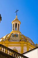 La Merced Church in the historic center of Guadalajara, Jalisco, Mexico