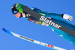 March 23, 2019 - Planica, Slovenia - Domen Prevc of Slovenia in action during the team competition at Planica FIS Ski Jumping World Cup finals  on March 23, 2019 in Planica, Slovenia. (Credit Image: © Rok Rakun/Pacific Press via ZUMA Wire)