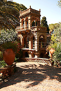 Trevelyan Gardens in Taormina also known as the Villa Comunale, the Giardino Trevelyan and the Parco Duchi di Cesarò .<br /> <br /> Visit our SICILY PHOTO COLLECTIONS for more   photos  to download or buy as prints https://funkystock.photoshelter.com/gallery-collection/2b-Pictures-Images-of-Sicily-Photos-of-Sicilian-Historic-Landmark-Sites/C0000qAkj8TXCzro