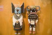 Katsina dolls, Museum of Northern Arizona, Flagstaff, Arizona, USA<br />