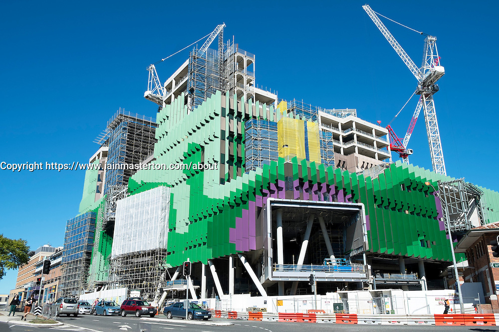New Queensland Children's Hospital under construction in Brisbane Australaia