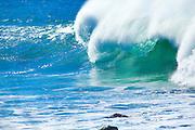 Surfing, Leeward Oahu, Hawaii
