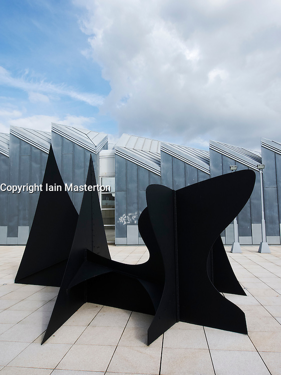 Sculpture Pointes et Courbes by Alexander Calder at Museum Abteiberg in Mönchengladbach Germany