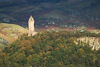 Monument to Scottish hero William Wallace
