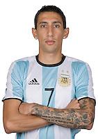 Football Conmebol_Concacaf - <br />Copa America Centenario Usa 2016 - <br />Argentina National Team - Group D -<br />Angel Di Maria