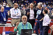DESCRIZIONE : Berlino Berlin Eurobasket 2015 Group B Germany Germania - Italia Italy<br /> GIOCATORE : Giovanni Malagò<br /> CATEGORIA : Tifosi Pubblico Spettatori VIP<br /> SQUADRA : Italia Italy<br /> EVENTO : Eurobasket 2015 Group B<br /> GARA : Germany Italy - Germania Italia<br /> DATA : 09/09/2015<br /> SPORT : Pallacanestro<br /> AUTORE : Agenzia Ciamillo-Castoria/GiulioCiamillo