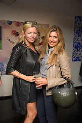 Left to right, FRU THOLSTRUP and SONIA LIEVAART at the Hix Award 2016 held at Unit London, 147 Wardour Street, Soho, London on 5th September 2016.