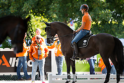Gal Edward, (NED), Glock's Voice<br /> Alltech FEI World Equestrian Games™ 2014 - Normandy, France.<br /> © Hippo Foto Team - Leanjo de Koster<br /> 25/06/14